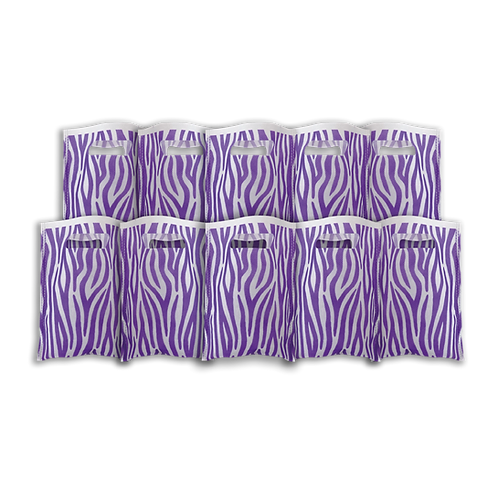 Bolsita Coti Animal Print Violeta x10