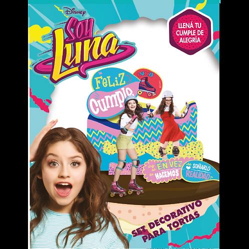 Accesorios para Torta Disney Soy Luna x6