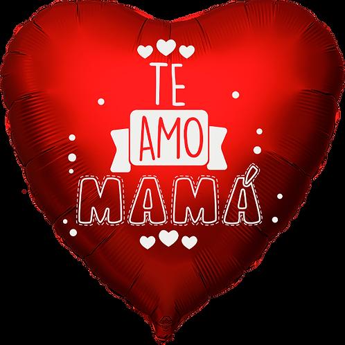 """Globo Corazón 18"""" - Te Amo Mamá"""