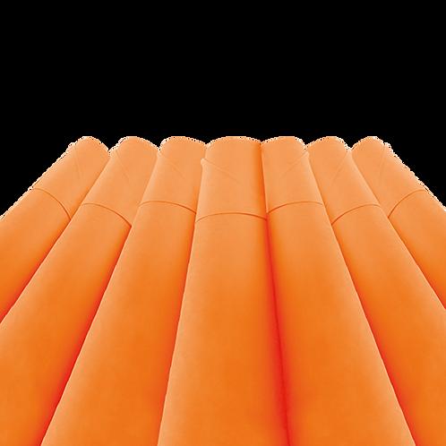 Rollo de Tela Lisa Naranja - 45 gr. 1,50 mts. X 100 metros