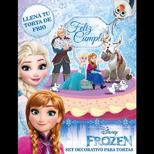 Accesorios para Torta Disney Frozen x7