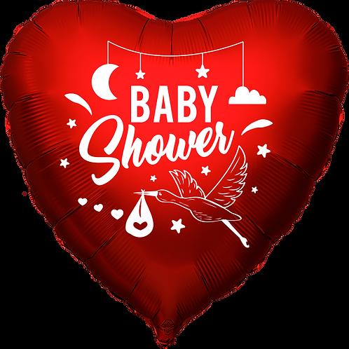 """Globo Corazón 18"""" - Baby Sower"""