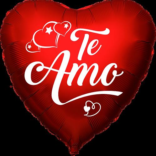 "Globo Corazón 18"" - Te Amo"