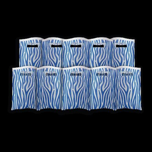 Bolsita Coti Animal Print Azul x10