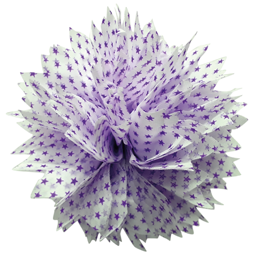 Pompon Estrella Chica Violeta