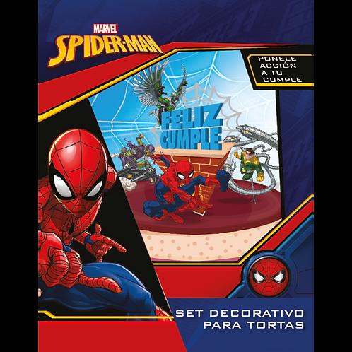 Accesorios para Torta Disney Spiderman x5