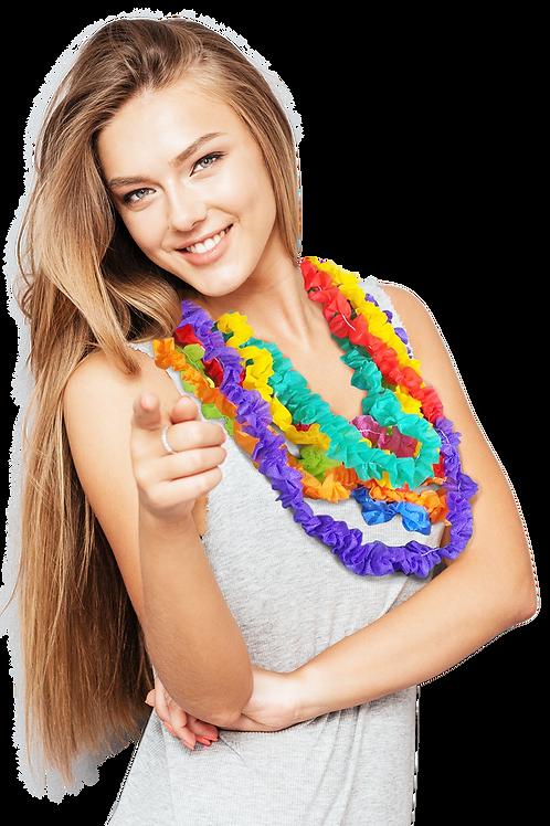 Collarcito de Friselina Multicolor x10