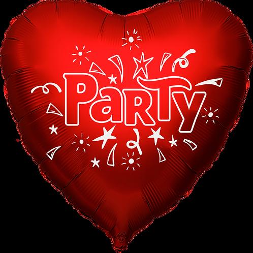 "Globo Corazón 18"" - Party"