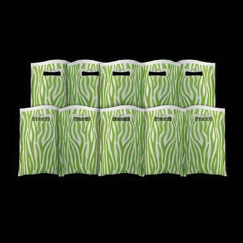 Bolsita Coti Animal Print Verde Manzana x10