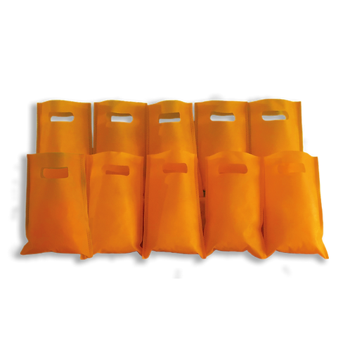 Bolsita Coti Lisa Naranja x10
