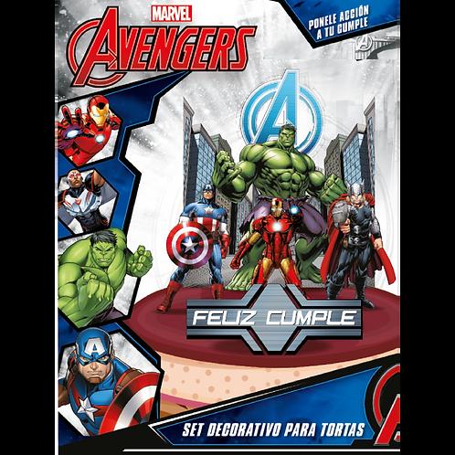 Accesorios para Torta Disney Avengers x7