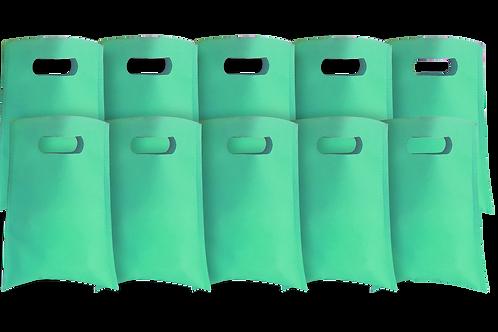 Bolsita Lisa Verde Pastel x10