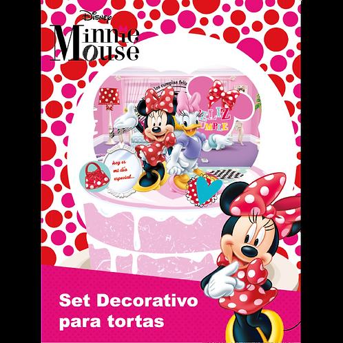 Accesorios para Torta Disney Minnie x6