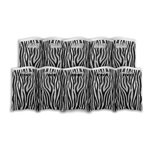 Bolsita Coti Animal Print Negro x10