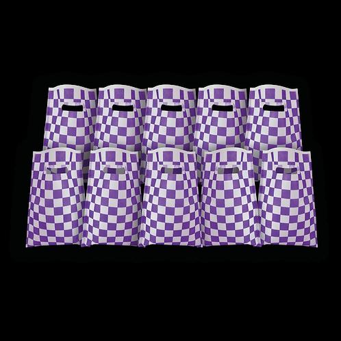 Bolsita Coti Cuadritos Violeta x10
