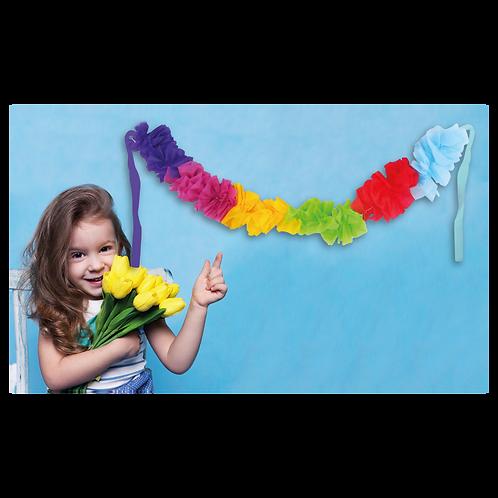 Guirnalda Hawaiana Multicolor 1mt x1