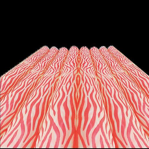 Rollo de Tela Animal Print Rojo - 60 gr. 1,20 mts. x 25 mts.