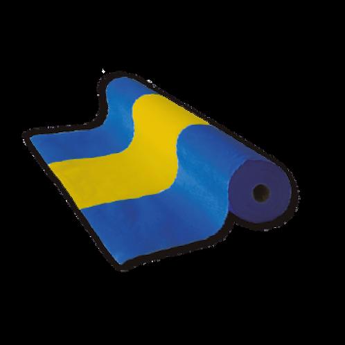 Tela de Bandera Azul y Amarillo  60 cm x 50 mts.