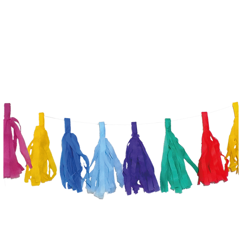 Guirnalda Porras Multicolor