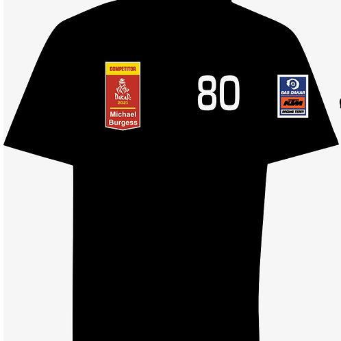 Michael Burgess Dakar 2021 Supporter Shirt