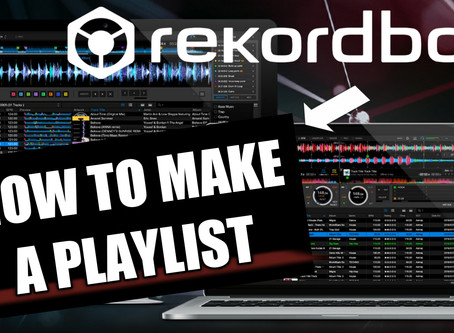 How To Create A Playlist With Rekordbox - Tutorial