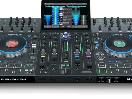 Meet the Denon DJ Prime 4 - 4-Channel Standalone DJ System