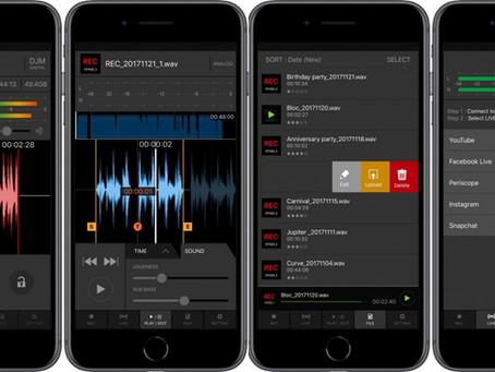 DJ mix recording app, The DJM-REC New Update