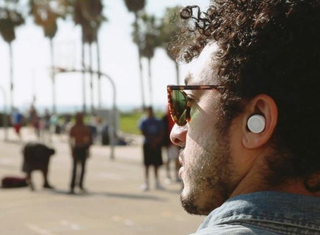 NEW EARBUDS WILL LET YOU CUSTOMISE THE SOUNDS AROUND YOU