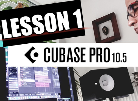 Music Production Tutorial - Getting Started With Cubase Lesson 1