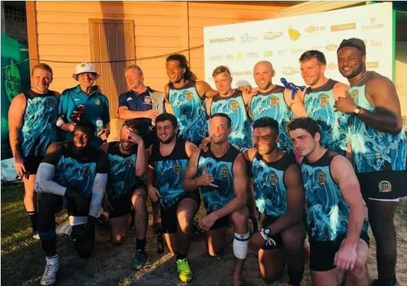 Corey Jones Rugby with Team Atlantis 2017
