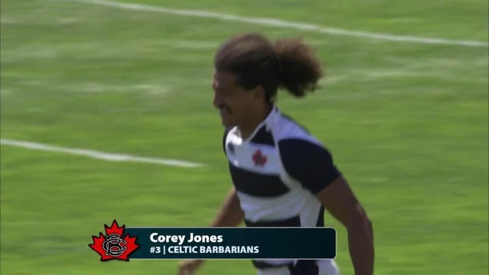 CoreyJonesRugby w-Celtic Barbarians, Rug