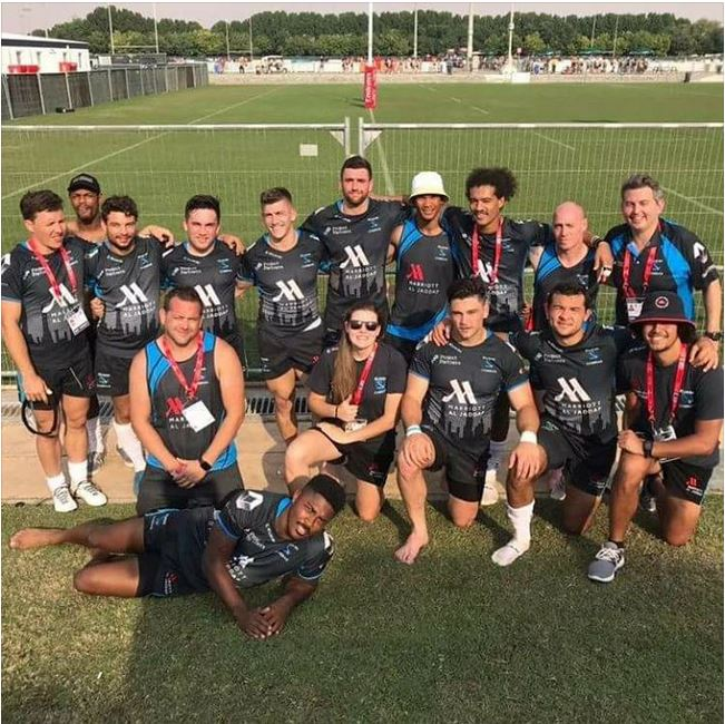 Corey Jones Rugby -Dubai 7's 2017