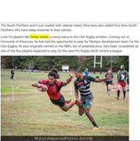Corey Jones mentioned in USA Rugby South Panther article