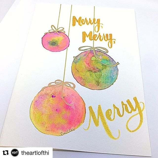 #Repost _theartlofthi (_get_repost)_・・・_Join us November 12th, for this creative card-making class w