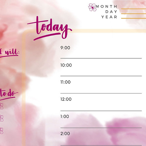 Find Aloha Everywhere Day Planner