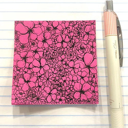 Post-it's aren't just for notes...When I am in meetings for hours, I usually have so much energy tha