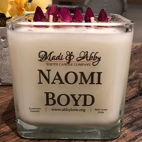 Customized Luxury Hand Poured 2 Wick Candle