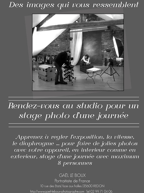 Carte Cadeau - Stage Photo