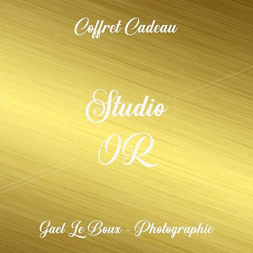 Coffret Cadeau -Studio Or