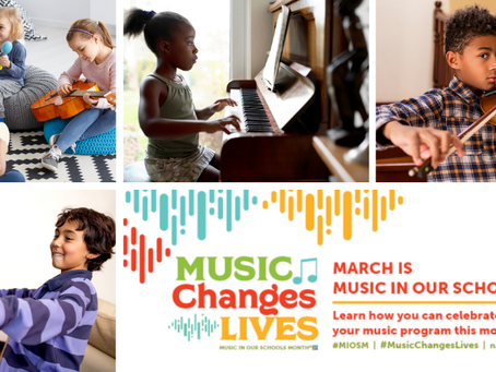 DCAEYC Celebrates Music in Our Schools Month