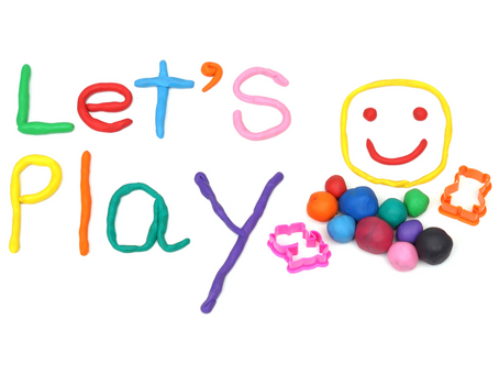 Family Fridays: Playing with Play Dough!