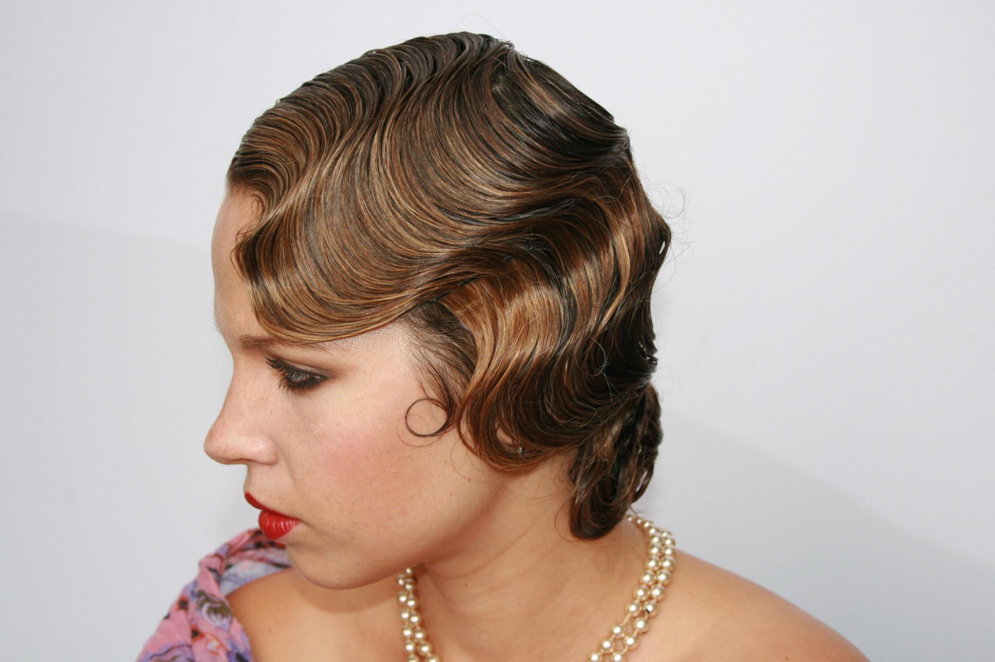 Formation coiffure en ligne | Crans (vagues) 1920