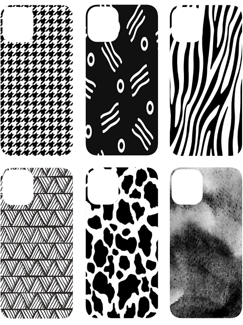 Black and White iPhone Case | Samsung Case
