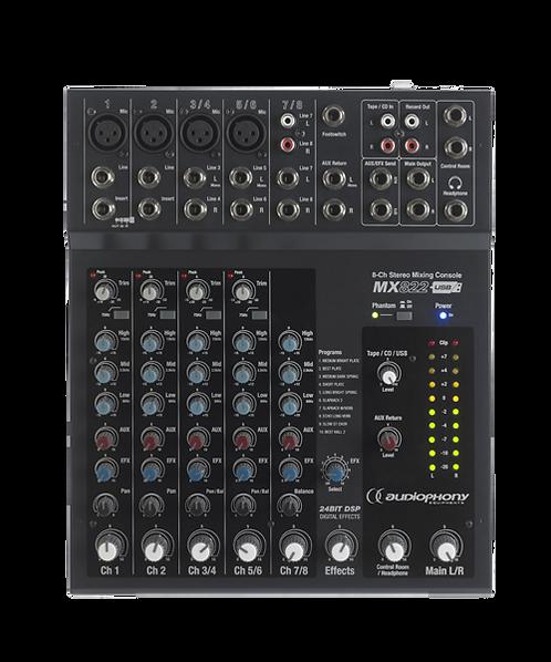Audiophony - MX822