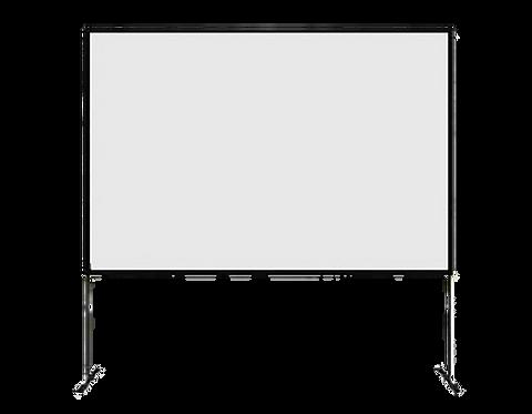 Ecran - 4x3m - Sur cadre