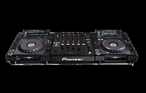Régie Pioneer DJM900 NEXUS + 2x CDJ2000 Nexus