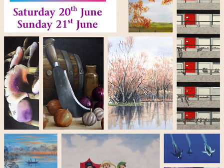 Cricklade Art Group Summer Exhibition set to be 'Out of this World!