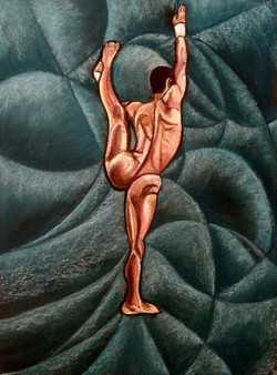 Gymnast Jim Dowton