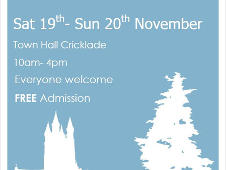 Autumn Art Exhibition  Cricklade 19th and 20th November