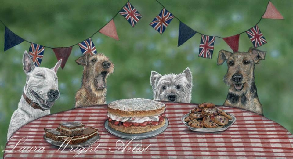 Terrier Tea Party